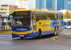 LSK 813 (Cammies Transport Photography) Tags: street bus volvo coach glasgow hamilton parks scottish aberdeen panther m9 citylink killermont plaxton of lsk813