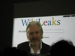 JulianNYC2014 booklaunch (pameladrew212) Tags: anonymous assange orbooks nycpremiers hackerwars googlemewikileaks