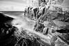 kullaberg rocks (Andreas Lööf) Tags: longexposure blackandwhite seascape nature water monochrome clouds landscape skåne rocks sweden tripod nopeople motionblur scandinavia kullaberg sigma1020mm kattegatt nordics lightcraftworkshopnd500 sonyalphaslta77