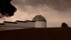 Vision (William Flowers) Tags: trees clouds hill observatory astronomy waitingfortherain