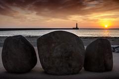 Roker, Sunderland (DM Allan) Tags: sunrise dawn coast northsea seafront sunderland roker wearside