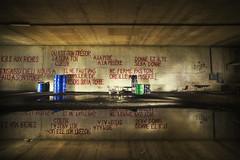 Ghost Bus Tunnel (inhiu) Tags: trip travel urban abandoned architecture nikon long exposure belgium decay exploration derelict d800 urbex inhiu