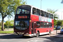 East Yorkshire 752 (Hesterjenna Photography) Tags: bus eclipse volvo coach passengers wright hull gemini doubledecker psv decker eastyorkshire humberside wrightbus eyms eastyorkshiremotorservices b9tl yx09bkj wrightcoachbuilders