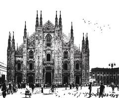 Duomo - Milano (AleCanario) Tags: milan milano duomo milo