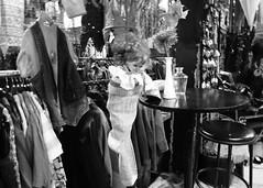 rock a my baby (chapeau melon) Tags: b bw monochrome shop vintage photography nikon eva noir coolpix et brocante blanc friperie p520