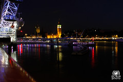 Thames by night (andrea.prave) Tags: uk light england london luz westminster thames night nacht lumire bigben southbank londres palazzo londra notte luce houseofparliament inghilterra  tamigi     visitlondon   elizabethtower    londonpass