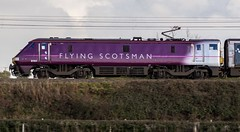 91101.Tuxford.16.10.14 (deltic17) Tags: train express flyingscotsman mk4 class91