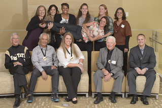 Athletics Hall of Honor Induction Group Portrait