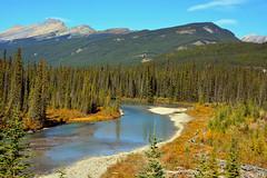 Mountain river (Caulker) Tags: canada rockies september 2014