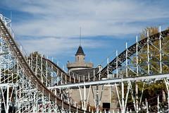 Hoosier Hurricane, Indiana Beach, Monticello, Indiana (Roger Gerbig) Tags: indiana rollercoaster monticello indianabeach hoosierhurricane lakeshafer canoneos5dmkii rogergerbig