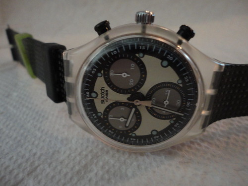 Swatch chronograph