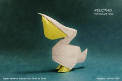 Pelicano - Patricio Kunz (Papygami) Tags: de origami pelican papier papiroflexia patricio pelicano kunz pliage papygami
