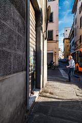 Hop! (gaetanocessati) Tags: street people urban italy man colors vertical composition canon photography italia mood pov streetphotography lifestyle firenze