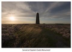 Sunset at Captin cooks (scoo_bert) Tags: sunset monument landscape nikon long exposure filter lee captain cooks d800