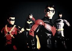DC Collectibles Bat Family (dcmotumarveldisney) Tags: batman batgirl redrobin dccomics nightwing new52 dccollectibles