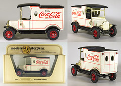 MBY-12-Coca-Cola (adrianz toyz) Tags: ford t toy model cocacola van matchbox yesteryear diecast