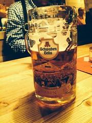 A glas of beer!