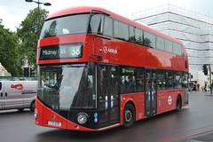 Arriva London LT235 LTZ1235 (Will Swain) Tags: park uk travel england bus london buses june corner britain south transport hyde greater 28th arriva 2014 lt235 ltz1235