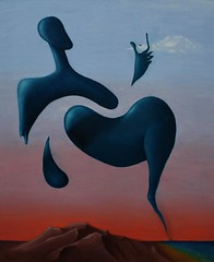 Gnsis - Agustin Vilella (vilella_art) Tags: art painting paint arte surrealism surreal oil surrealist agustin pintura pinturas oleo vilella surrealsimo