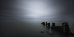 Yarmouth (richard carter...) Tags: longexposure seascape overcast isleofwight yarmouth groyne canoneos5dmk2