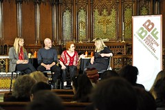 (Post) Modern Love (AntyDiluvian) Tags: love church boston postmodern panel massachusetts event backbay bbf churchofthecovenant danieljones jenniferfinneyboylan bostonbookfestival margohoward