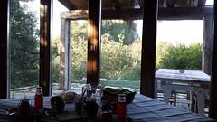 Camera Erminia - la colazione e il paesaggio