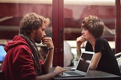 DSC_0670b (OliviaZinsou) Tags: light boy two mannequin girl beauty hair model mac couple duo air coffe