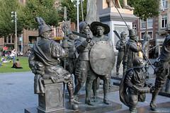 "Statues of the ""Night Watch"" (Canadian Pacific) Tags: holland netherlands dutch amsterdam statue song north nederland statues link nightwatch noord koninkrijkdernederlanden denachtwacht aimg0934"