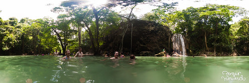 20120512 Erawan Waterfalls Pano 1