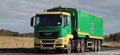 ABN Cupar Fife MAN BJ61 YUA (Kilmachalmag) Tags: fife trucks bulk lorries lorrys bulker lorryphotos