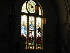 St. Patrick's Church - Parsons, KS (tomcomjr) Tags: church glass stained canonpowershot