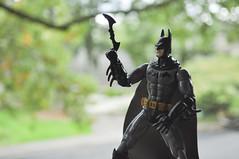 Introducing ... the BATARANG! (skipthefrogman) Tags: fun toy action figure batman kit bandai spru sprukits