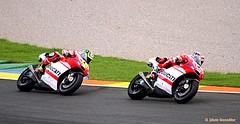 Las Ducati en carrera