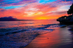 59 (artur.westergren) Tags: ocean sunset color beach nature island hawaii maui sunsrise
