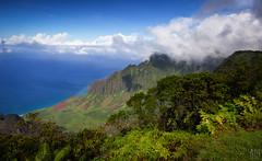 Kalalau Valley, Na Pali Coast (Adam Isaac Photography) Tags: ocean mountains beach beautiful beauty canon island hawaii pacific hiking kauai overlook epic napali pacificcoast pacificisland aih napalicoast 2014 canon60d aihphotography