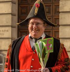 DSC_9740.jpg (Sav's Photo Gallery) Tags: street city uk people london smiling costume outdoor candid military capital marchingband cityoflondon horseguards lordmayorsparade d7000 savash