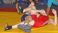 Aspull 14 (33) (on_the_mat_uk) Tags: uk canon freestyle wrestling competition wrestler wrestle 2014 eos7 britishwrestling robinparksportscentre onthematuk aspullopen2014