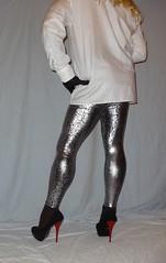 8 (read my Profile before anything!!!!!) Tags: black high buffalo highheels plateau heels heel leggings stilettos