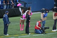 2014 Seahawks vs. Dallas Cowboys game (NBWaller) Tags: seattle cowboys football cheerleaders nfl seahawks seattleseahawks fans seagals nationalfootballleague dallas centurylinkfield