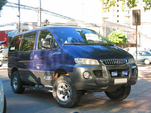 Hyundai H1 HSV 2.4 4x4 2001
