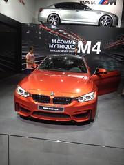BMW M4 Coup (louishuaume) Tags: paris mercedes martin huracan ferrari bmw salon jaguar lamborghini m4 aston voitures vantage supercars gts i8 rapide carspotting multicars aventador