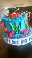 Finding Nemo Dory Cake (6) (Nola Party Boutique) Tags: cake finding nemo dora nolapartyboutique
