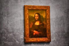 Mona Lisa (~ MXXM) Tags: france tower glass smile de champselysees europa europe place pyramid louvre monalisa champs arc triomphe lisa charles mona tags eiffel gaulle elysees lyses champslyses mxxm