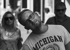 303-365-2014 (dagomir.oniwenko1) Tags: street uk portrait england blackandwhite man male men monochrome portraits canon person mono michigan candid human gb portret kingslynn manwithglasses norfolkshire portraitworld canoneos60d