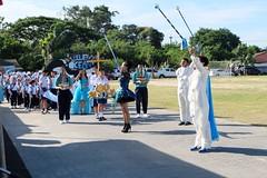 ให้บริการเช่าชุดทั้งขบวน กีฬาสีสีฟ้า โรงเรียนมารีวิทย์ พัทยา