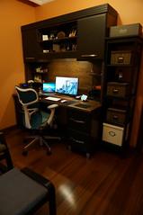 New Home-Office room-1 (psleda) Tags: 6 ikea apple mouse gold keyboard desk magic dell pro plus custom wd bluetooth 13 hermanmiller retina iphone ultrasharp macbook ex4 mycloud u2414h mirra2
