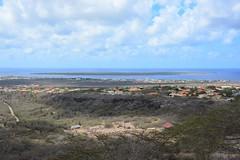 View over Kralendijk from North-Salina (Bonaire 2014)