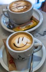 Happy Morning Coffee - Valencia (Sony RX100M3) (High ISO) (markdbaynham) Tags: city urban coffee valencia high spain sony iso espana spanish espanol metropolis rx valencian rx100m3 rx100mkiii rx100mk3 rx100mark3