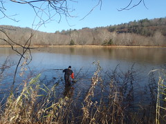 Delaware River at Callicoon (Delaware River Basin Commission (DRBC)) Tags: ice fieldwork hobo naturalgas freshwater waterquality onset conductivity nontidal drbc