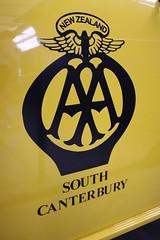 NZAA (ambodavenz) Tags: austin mini van automobile association geraldine vintage car machinery museum crank up south canterbury new zealand